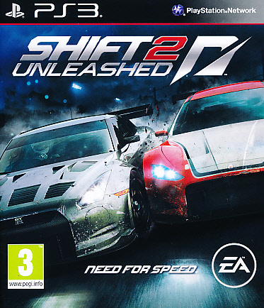 "Packshot for ""NFS Shift 2 Unleashed PS3"""