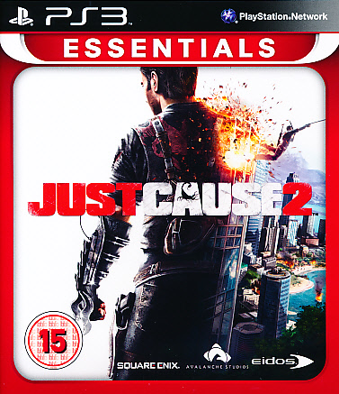"Packshot for ""Just Cause 2 Essentials BBFC PS3"""