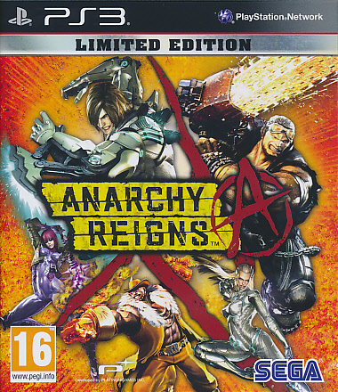 "Packshot for ""Anarchy Reigns Limited Ed. PS3"""