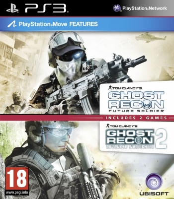 "Packshot for ""Ghost R. Future Soldier+AWF2 PS3"""