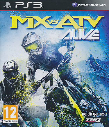 "Packshot for ""MX vs ATV Alive PS3"""
