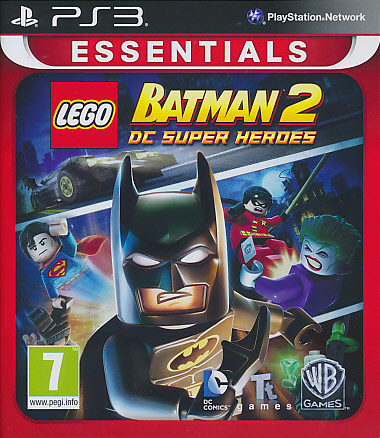 "Packshot for ""Lego Batman 2 DC Superheroes EssPS3"""