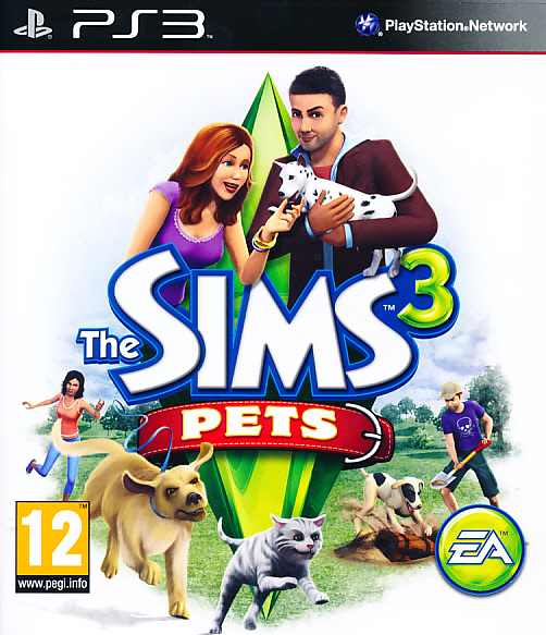 """Packshot for """"Sims 3 Pets PS3"""""""