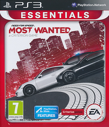 "Packshot for ""NFS Most Wanted (2012) Ess.PS3"""