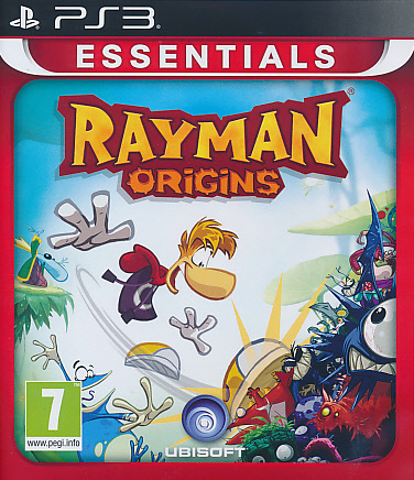 "Packshot for ""Rayman Origins Essentials PS3"""
