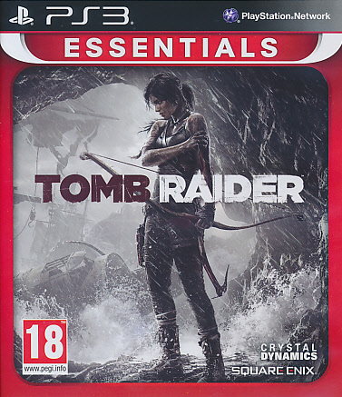 "Packshot for ""Tomb Raider (2013) Essentials PS3"""