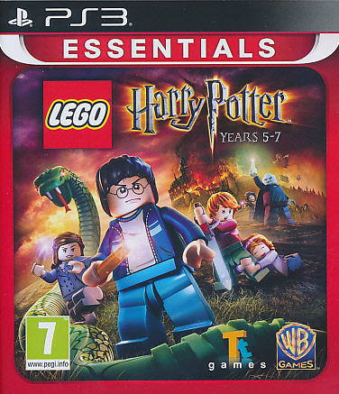 "Packshot for ""Lego Harry Potter 5-7 Ess. PS3"""