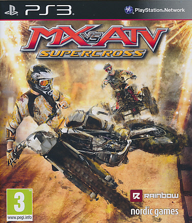 "Packshot for ""MX vs ATV Supercross PS3"""