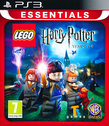"Packshot for ""Lego Harry Potter 1-4 Ess. PS3"""