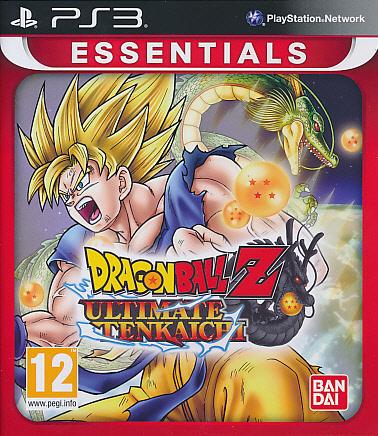 """Packshot for """"Dragonball Z Ult. Tenkai Ess. PS3"""""""