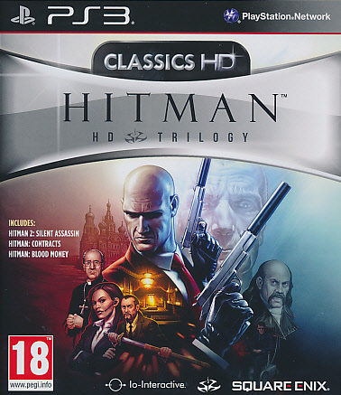 "Packshot for ""Hitman HD Trilogy PS3"""