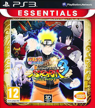 "Packshot for ""Naruto Ninja Storm 3 Full. Ess PS3"""