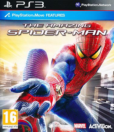 "Packshot for ""Amazing Spiderman PS3"""
