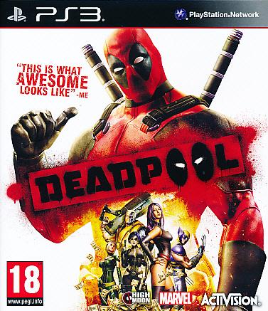 """Packshot for """"Deadpool PS3"""""""