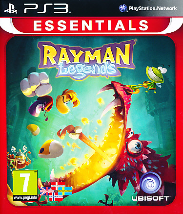 "Packshot for ""Rayman Legends Essentials PS3"""