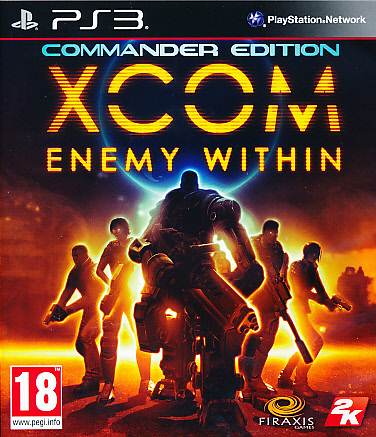 "Packshot for ""XCOM Enemy Within PS3"""