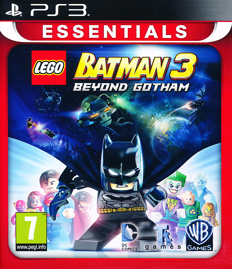 "Packshot for ""Lego Batman 3 Beyond Gotham Ess PS3"""