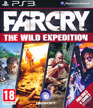 "Packshot for ""Far Cry Wild Expedition Ed. PS3"""