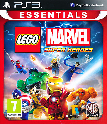 "Packshot for ""Lego Marvel Superheroes Ess PS3"""