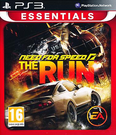 "Packshot for ""NFS The Run Essentials PS3"""