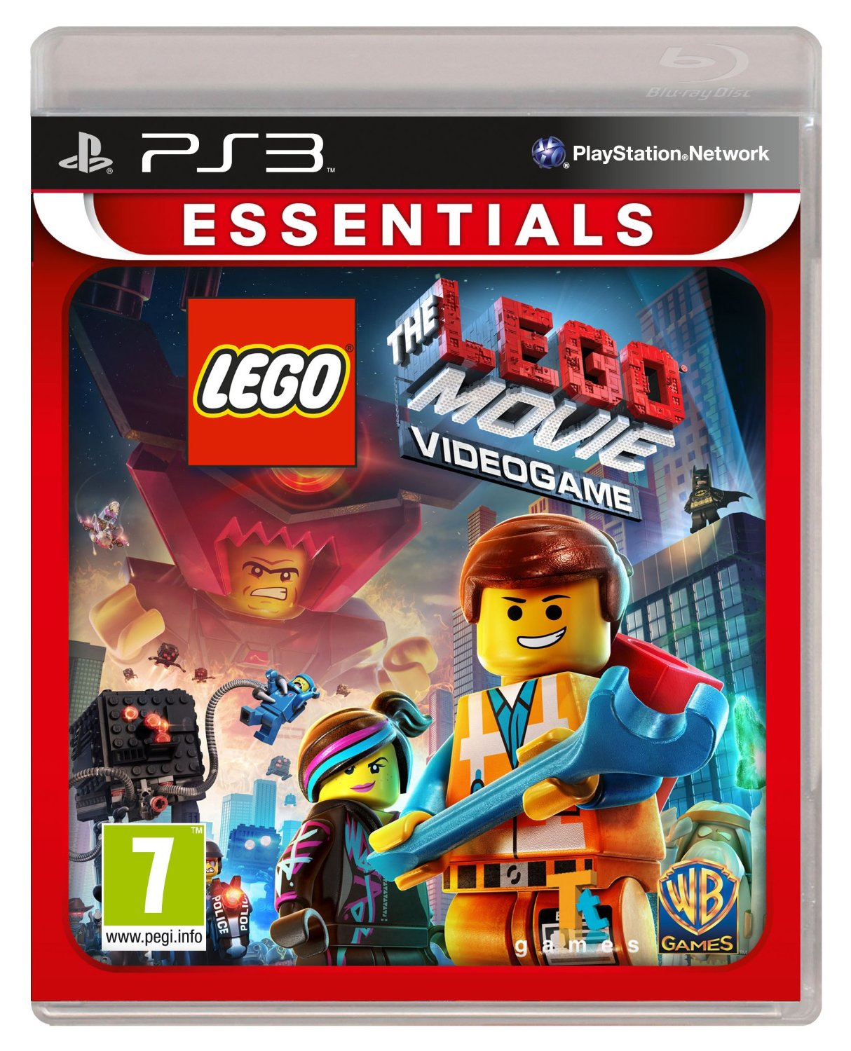"Packshot for ""Lego Movie Videogame Essentials PS3"""