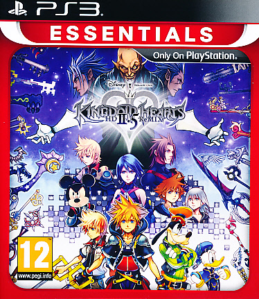 "Packshot for ""Kingdom Hearts 2.5 Remix Ess. PS3"""