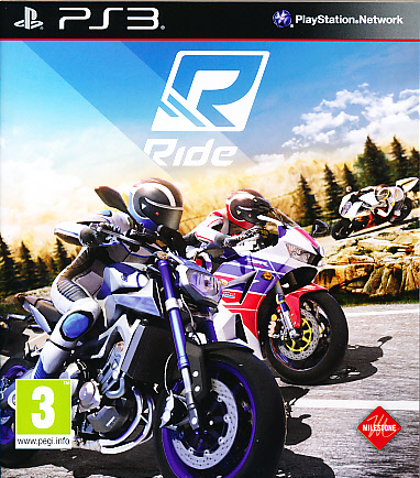 "Packshot for ""Ride PS3"""