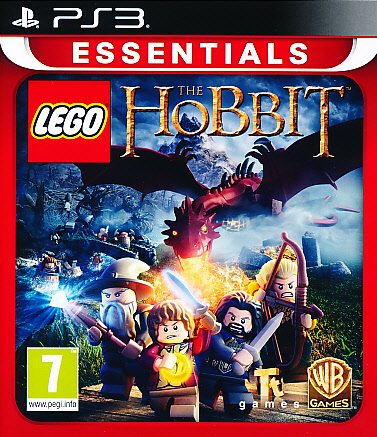 "Packshot for ""Lego Hobbit PS3"""