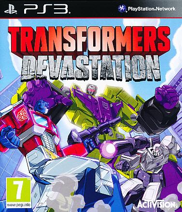 """Packshot for """"Transformers Devastation PS3"""""""