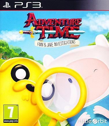 """Packshot for """"Adventure Time Finn&Jake Invest.PS3"""""""