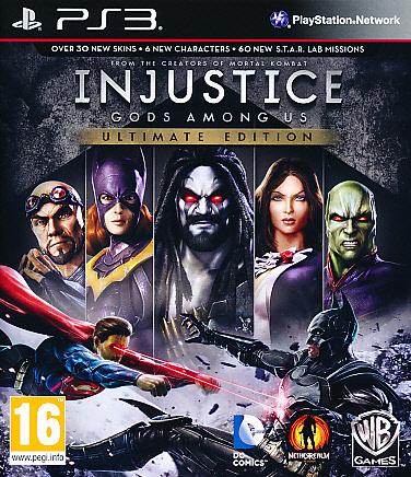 """Packshot for """"Injustice Gods Among Us Ult. Ed PS3"""""""