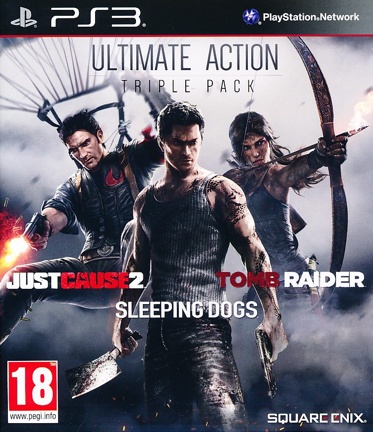 "Packshot for ""Ultimate Action Pack PS3"""