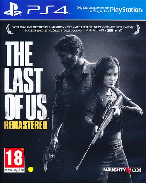 "Packshot for ""Last of Us Remastered PS4"""