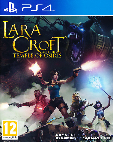 "Packshot for ""Lara Croft Temple of Osiris PS4"""