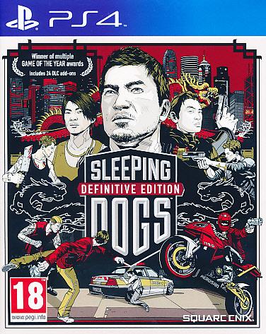 "Packshot for ""Sleeping Dogs Definitive Ed. PS4"""