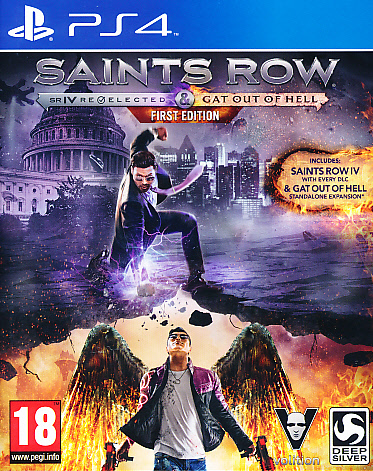"Packshot for ""Saints Row IV Re-Elect & Gat PS4"""