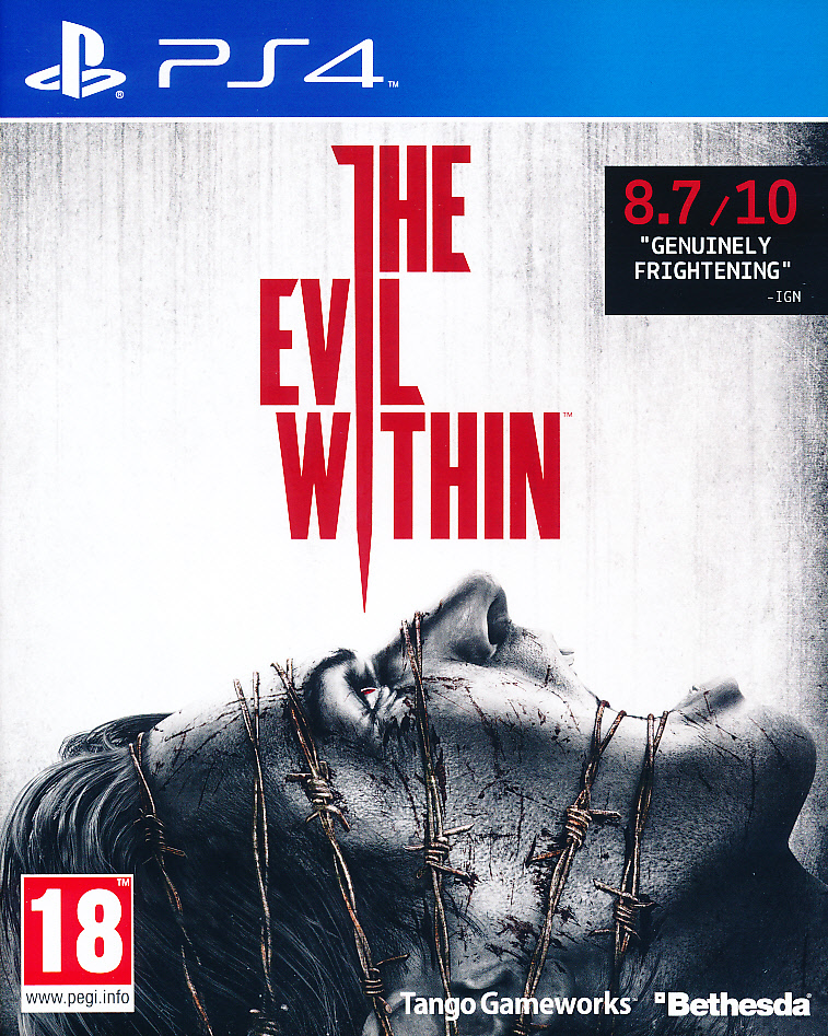"Packshot for ""The Evil Within PS4"""