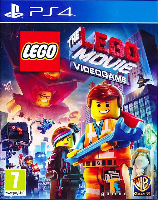 "Packshot for ""Lego Movie Videogame PS4"""