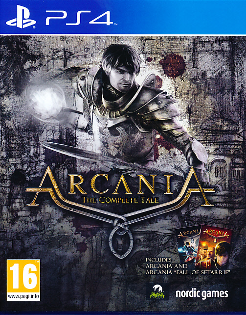 """Packshot for """"Arcania Complete Tale PS4"""""""