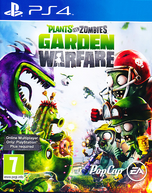 "Packshot for ""Plants vs Zombies Garden WarfarePS4"""