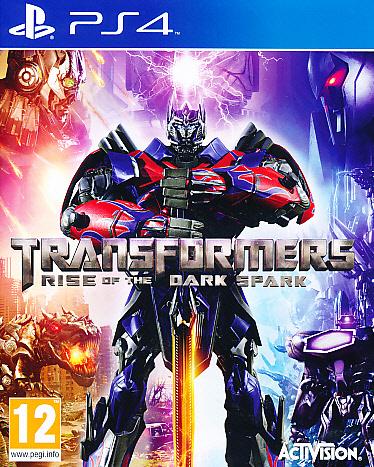 "Packshot for ""Transformers Rise of Dark Spark PS4"""