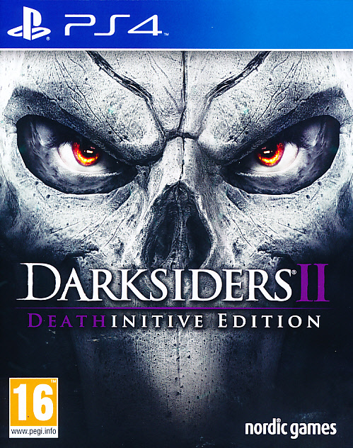 "Packshot for ""Darksiders 2 Deathinitive Ed. PS4"""