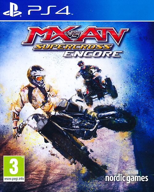 "Packshot for ""MX vs ATV Supercross Encore Ed. PS4"""
