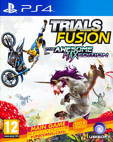 "Packshot for ""Trials Fusion Awesome Max Ed. PS4"""