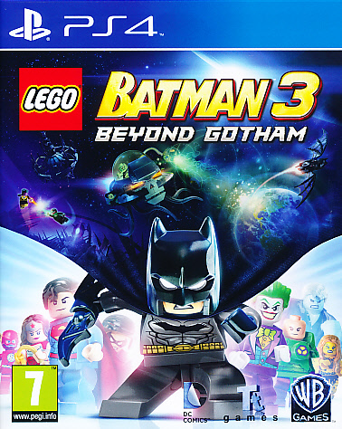 "Packshot for ""Lego Batman 3 Beyond Gotham PS4"""