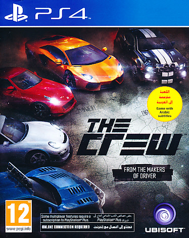 "Packshot for ""The Crew PS4"""