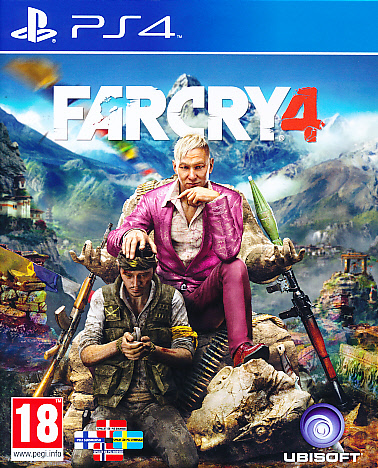"Packshot for ""Far Cry 4 NORD PS4"""