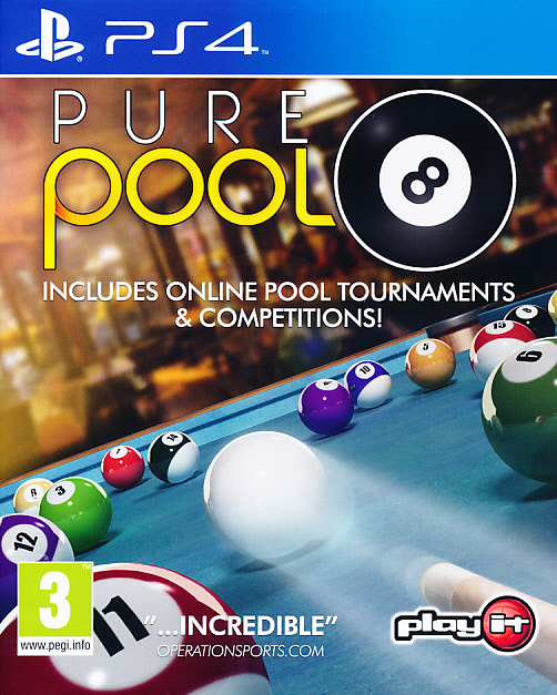 "Packshot for ""Pure Pool PS4"""