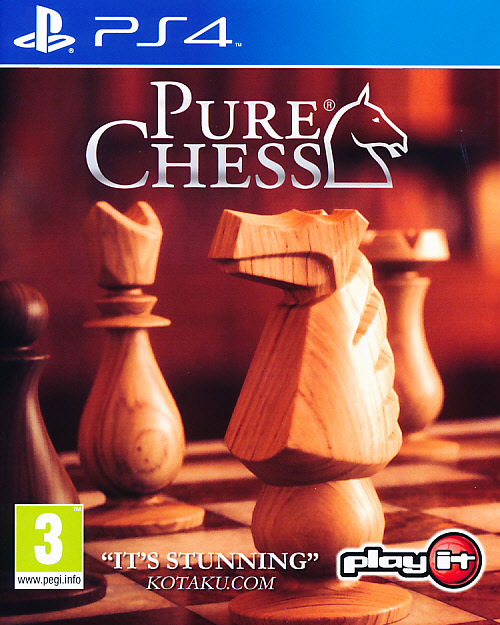 "Packshot for ""Pure Chess PS4"""