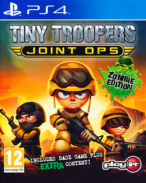 "Packshot for ""Tiny Troopers Joint Zombie Ed. PS4"""